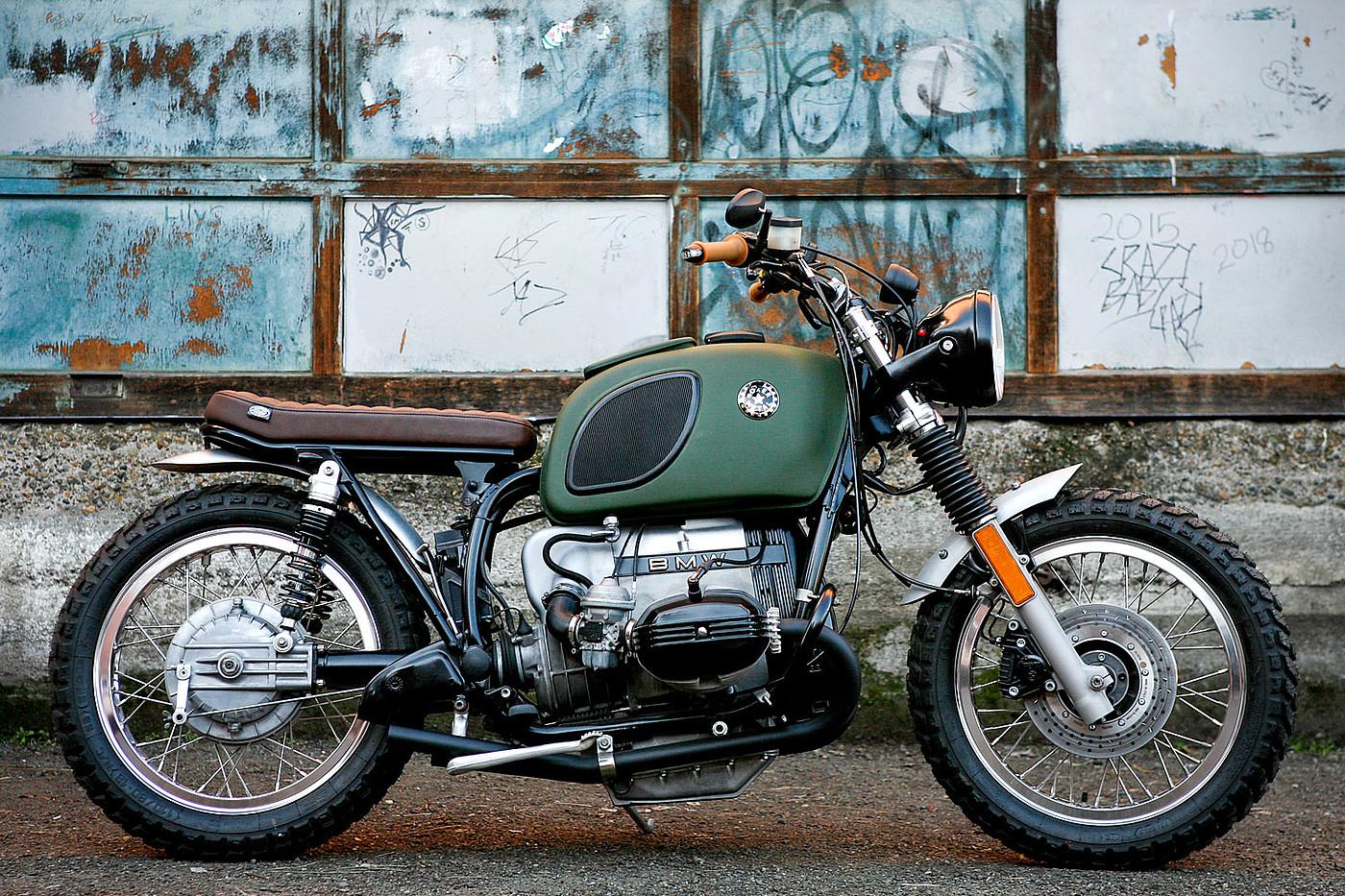 舒适快捷的宝马R80摩托车