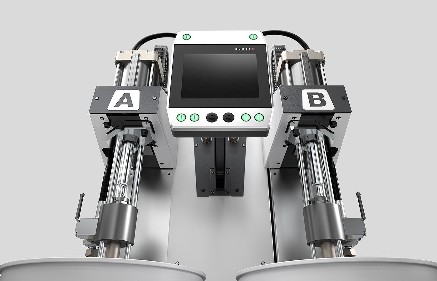 科技感满满的化工注料机器