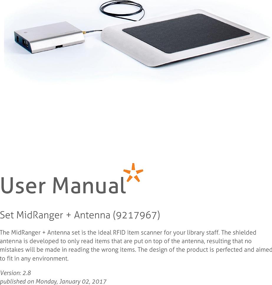 MidRangerRFID阅读器系统(荷兰)