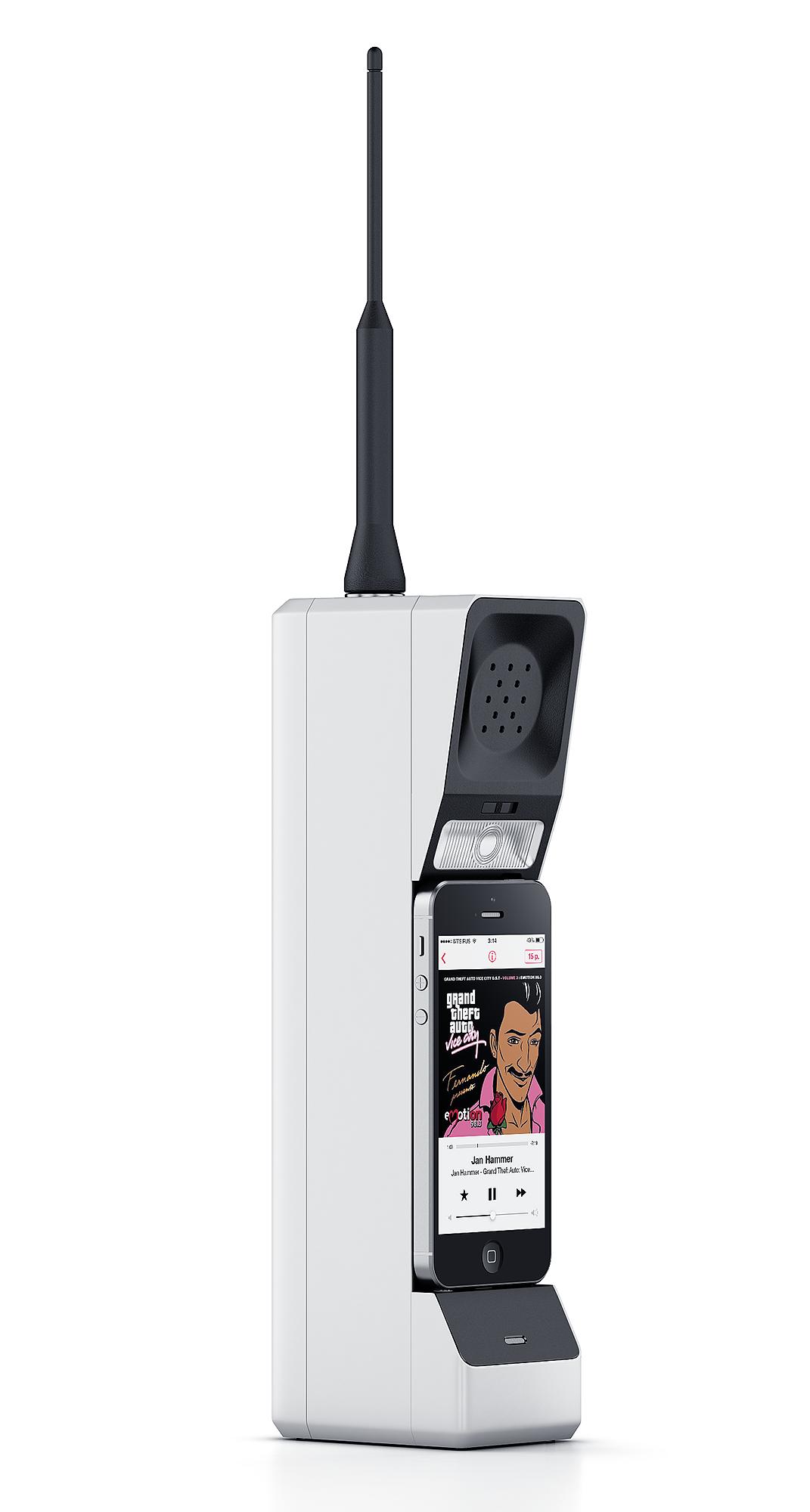 苹果手机秒变大哥大的方法Montanaphone