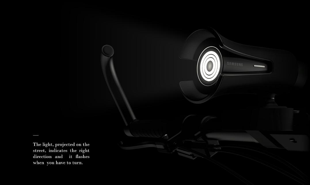 三星又出黑科技Virgilio自行车导航系统概念设计